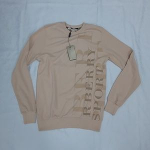 Burberry Brit Men Tan Color Sweater Crewneck